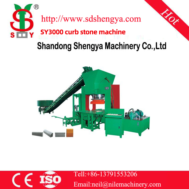 SY3000 curb stone machine
