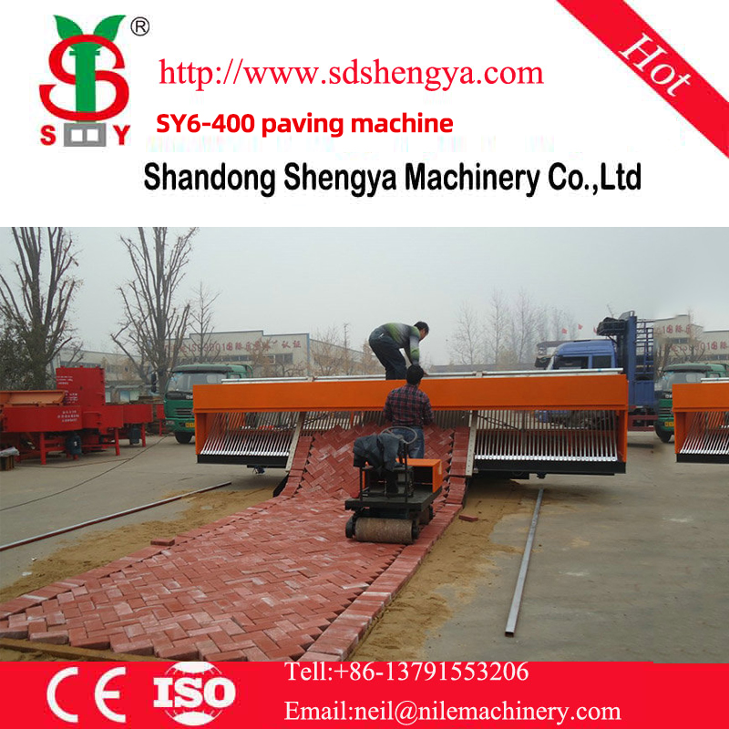 SY6-400 paving machine