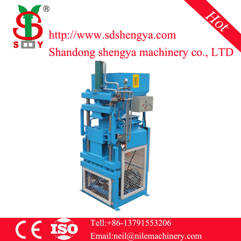 SY1-10 Interlocking brick making machine